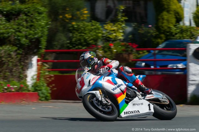 IOMTT: Ballacraine with Tony Goldsmith 2014 Isle of Man TT Ballacraine Tony Goldsmith 04 635x422