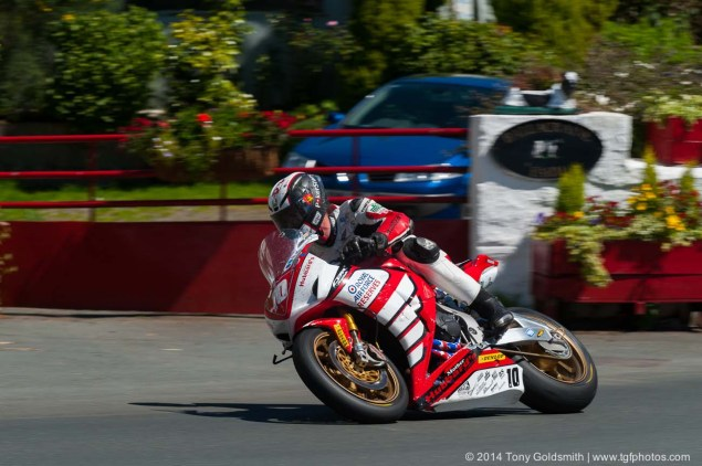 IOMTT: Ballacraine with Tony Goldsmith 2014 Isle of Man TT Ballacraine Tony Goldsmith 05 635x422