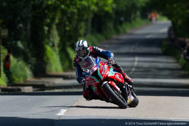 IOMTT: Ballacraine with Tony Goldsmith 2014 Isle of Man TT Ballacraine Tony Goldsmith 09 635x422