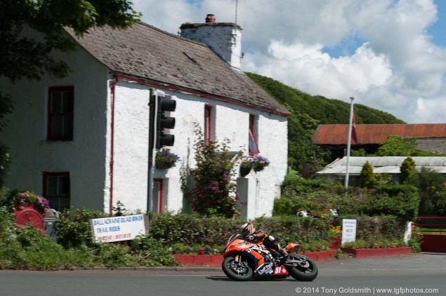 IOMTT: Ballacraine with Tony Goldsmith 2014 Isle of Man TT Ballacraine Tony Goldsmith 12 635x422