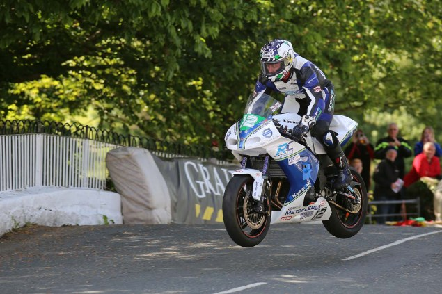 IOMTT: Ballaugh Bridge with Richard Mushet 2014 Isle of Man TT Ballaugh Bridge Richard Mushet 18 635x423