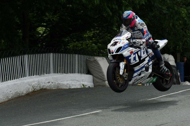 IOMTT: Ballaugh Bridge with Richard Mushet 2014 Isle of Man TT Ballaugh Bridge Richard Mushet 20 635x423