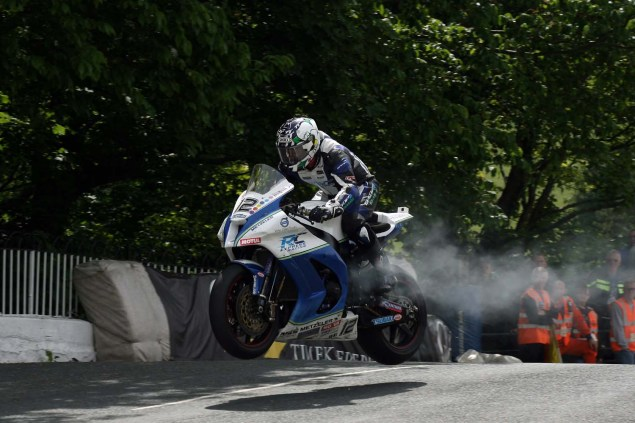 IOMTT: Ballaugh Bridge with Richard Mushet 2014 Isle of Man TT Ballaugh Bridge Richard Mushet 25 635x423