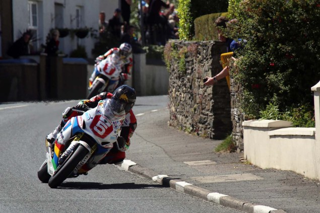 IOMTT: Ballaugh with Richard Mushet 2014 Isle of Man TT Ballaugh Richard Mushet02 635x423