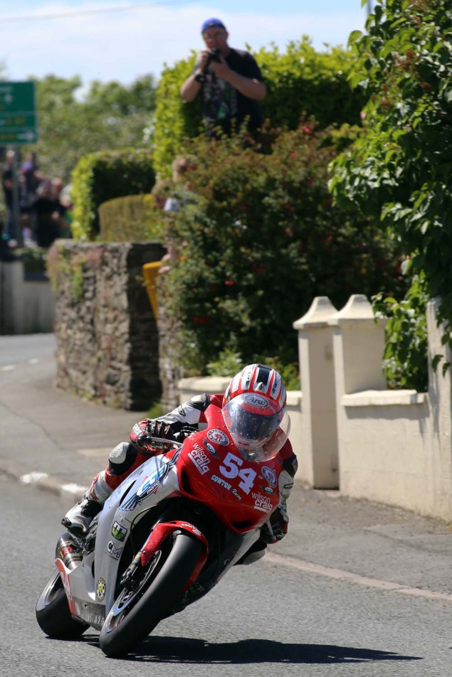 IOMTT: Ballaugh with Richard Mushet 2014 Isle of Man TT Ballaugh Richard Mushet11 635x952