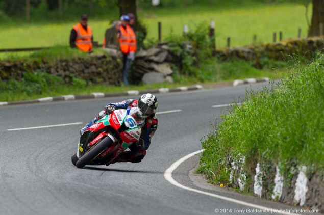 IOMTT: Glen Helen with Tony Goldsmith 2014 Isle of Man TT Glen Helen Tony Goldsmith 58 635x422
