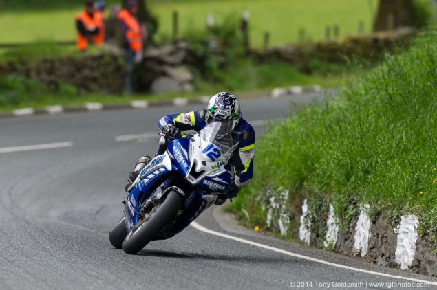 IOMTT: Glen Helen with Tony Goldsmith 2014 Isle of Man TT Glen Helen Tony Goldsmith 60 635x422