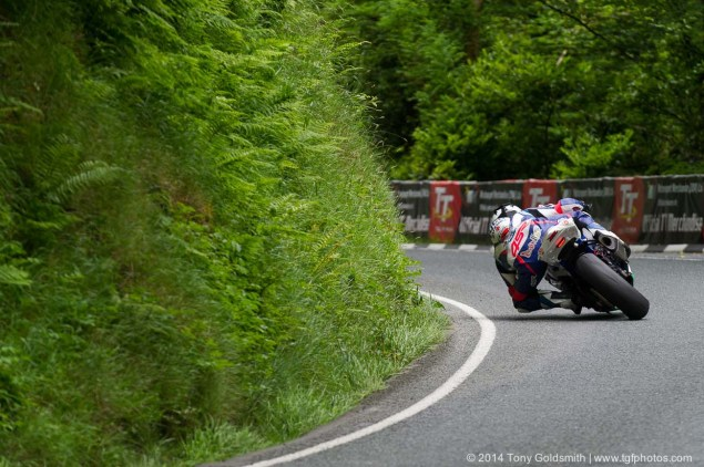 IOMTT: Glen Helen with Tony Goldsmith 2014 Isle of Man TT Glen Helen Tony Goldsmith 62 635x422