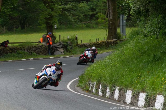 IOMTT: Glen Helen with Tony Goldsmith 2014 Isle of Man TT Glen Helen Tony Goldsmith 64 635x422