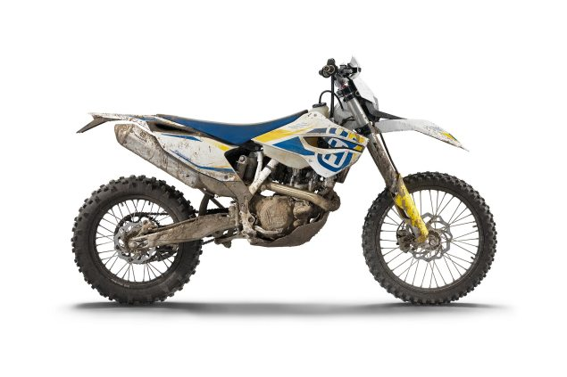 Husqvarna Announces Enduro Models for US Market 2015 Husqvarna FE 450 Dirty 635x423