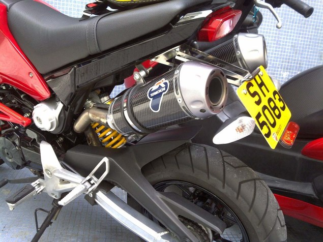 Honda Grom + Ducati Monster = Gromcati Gromcati Ducati Monster Honda Grom X Speed Motorland 08 635x476