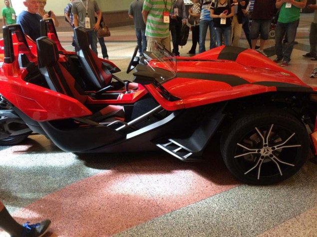 First Photos of the Polaris Slingshot Polari Slingshot SL Adventure Motorsports NWF 05 635x476