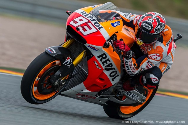Saturday Summary at Sachsenring: Marquez on Pole, Silly Season Shenanigans, & The Dangers of Skipping Moto2 Saturday Sachsenring MotoGP German GP Tony Goldsmith 18 635x422