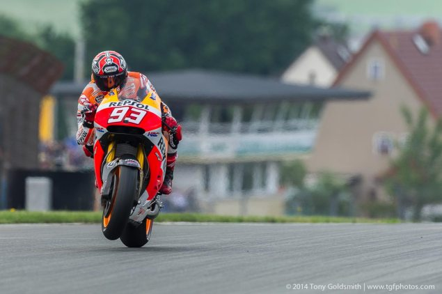 MotoGP: Qualifying Results from Sachsenring marc marquez repsol honda sachsenring motogp tony goldsmith 635x422