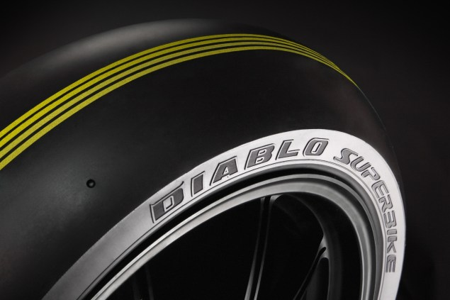 WSBK Announces Tender Offer for Spec Tire Supplier pirelli wsbk slick superpole tire 635x423