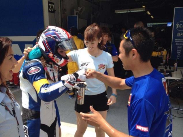 She'z Racing at Suzuka — Game Face, Race Day (Days 3 & 4) Shez Racing Suzuka 4 Hour Shelina Moreda Melissa Paris Race 06 635x476