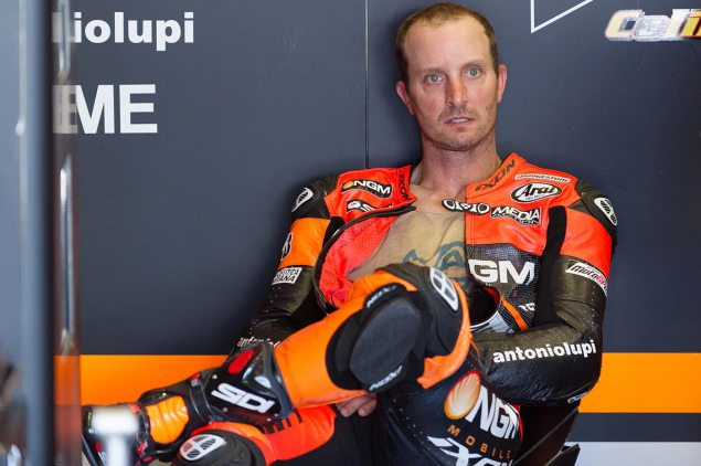 Colin Edwards Only Racing at Indy, Silverstone, & Valencia? colin edwards forward racing tony goldsmith 635x422