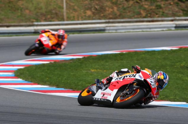 MotoGP: Race Results from Brno dani pedrosa brno motogp hrc 635x421