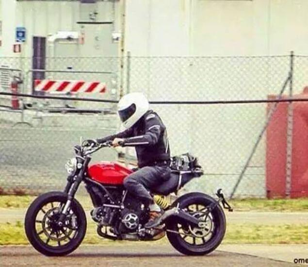 Yet Another Ducati Scrambler Photo (Not Claymation) ducati scrambler spy photo