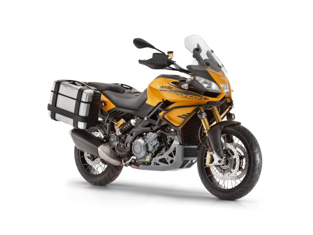 2015 Aprilia Caponord 1200 Rally Breaks Cover 2015 Aprilia Caponord 1200 Rally 1 635x476