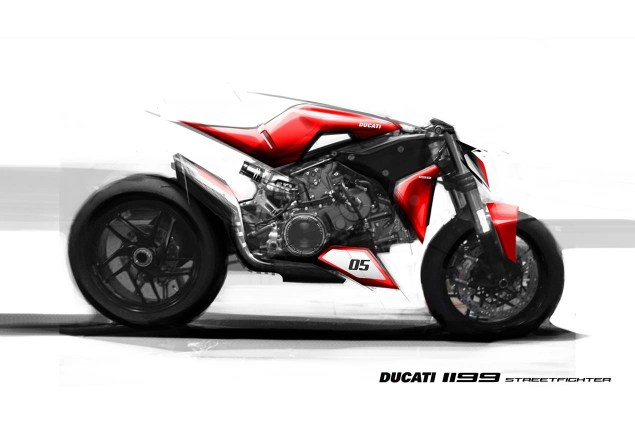 Ducati 1199 Streetfighter Concept by Shantanu Jog Ducati 1199 Streetfighter concept Shantau Jog 02 635x425