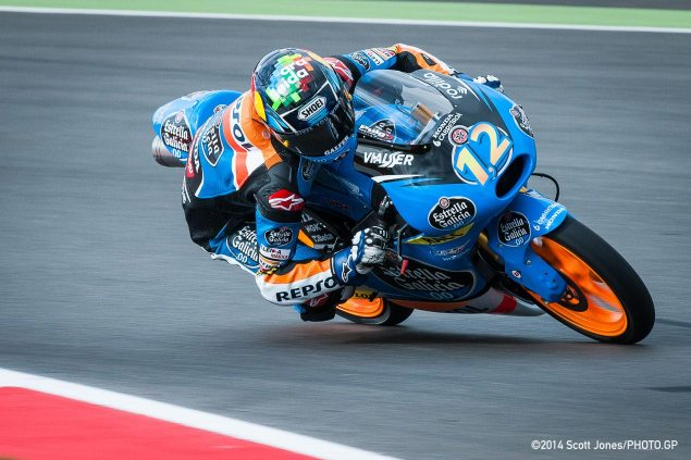 Moto2: Alex Marquez Signs Two Year Deal with Marc VDS alex marquez silverstone moto3 scott jones 635x423