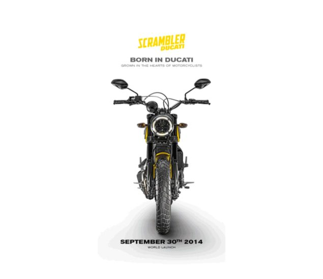 First Official Photo of the Ducati Scrambler Revealed ducati scrambler intermot teaser 635x550