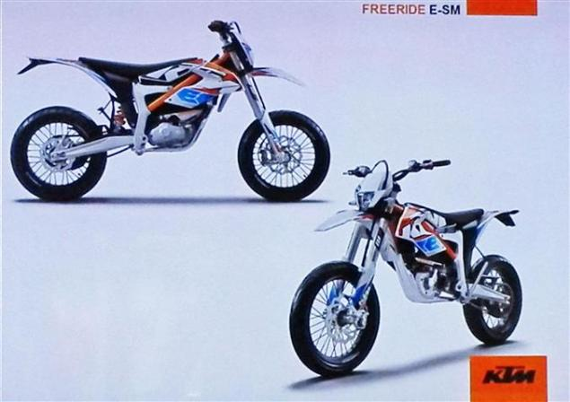 Electric Supermoto Coming from KTM Too? ktm freeride e sm 635x448