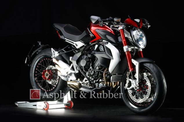 LEAKED: First Photos of the MV Agusta Dragster RR MV Agusta Dragster RR leak Asphalt and Rubber 04 635x423