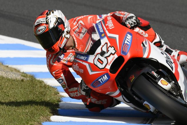 Friday Summary at Motegi: Hard Braking Hondas, Rabats Imperious Pace, & The Moto3 Manufacturer Mix andrea dovizioso motogp motegi ducati corse 635x423