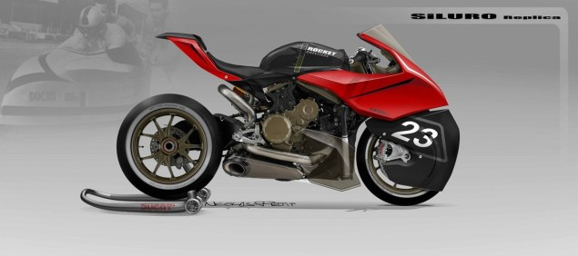 What If You Put Dustbin Fairings on Modern Sport Bikes? ducati panigale dustbin racer nicolas petit 635x282