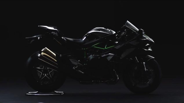 LEAKED: First Image of the Kawasaki Ninja H2 Street Bike kawasaki ninja h2 street leak 635x357