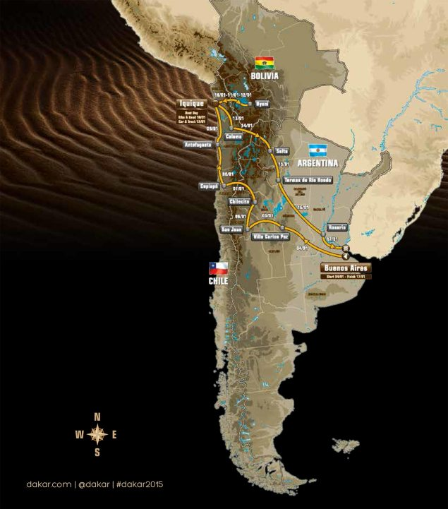 2015-dakar-rally-route