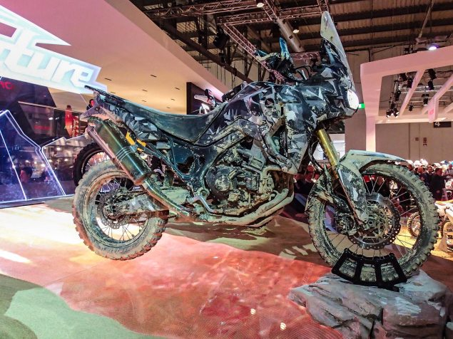 Up Close with the Honda True Adventure Prototype Honda Africa Twin True Adventure Prototype EICMA Rob Harris 01 635x476