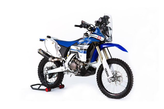 Yamaha WR450F Rally by Rebel X Sports  Yamaha WR450F Rally 635x423
