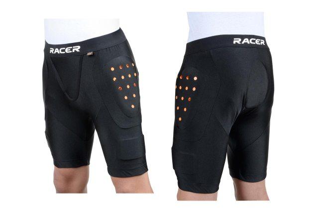 Racer-D3O-Profile-under-shorts