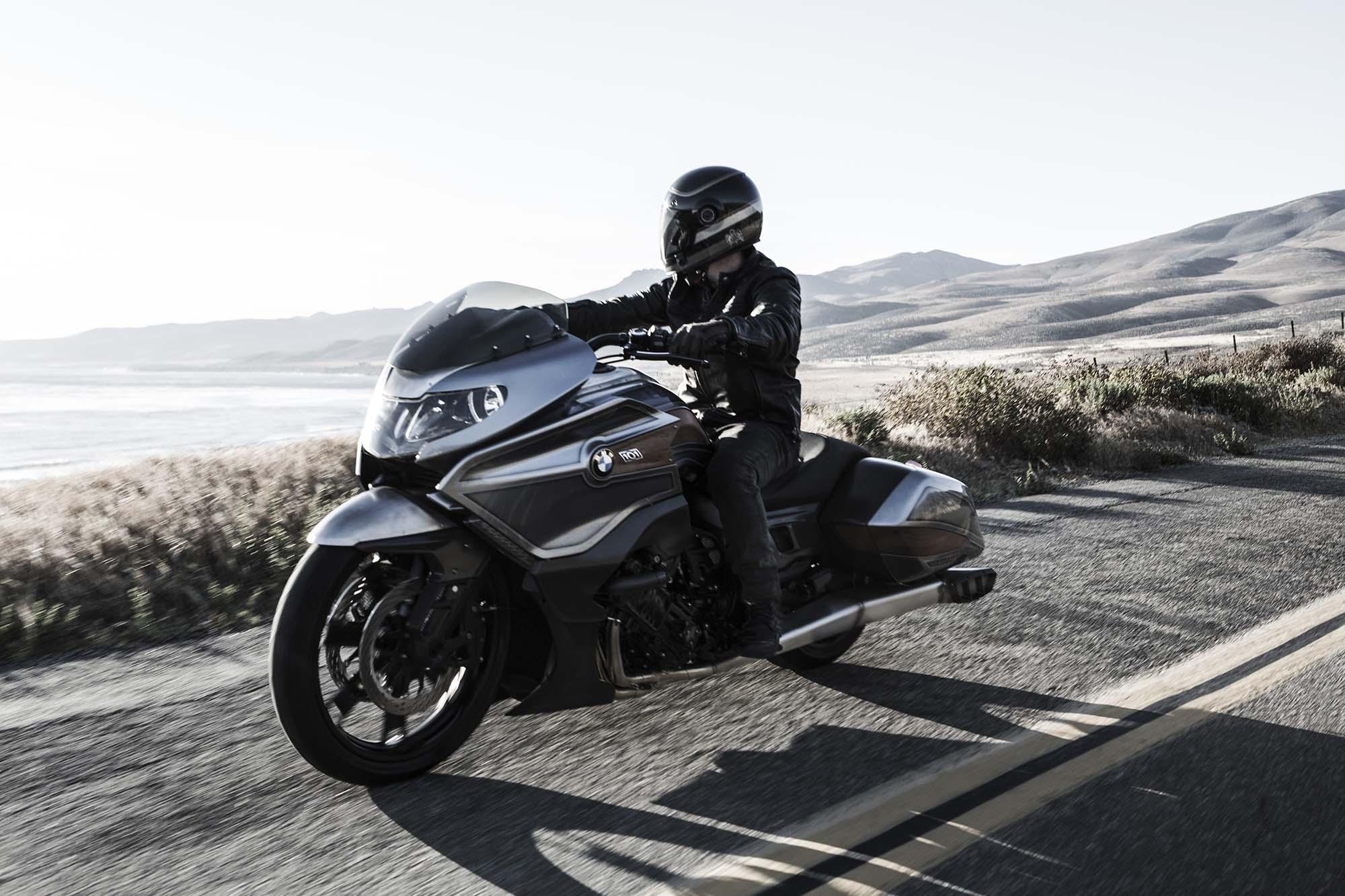Bmw Motorrad Concept 101 Six Cylinders Of Bagger Asphalt Amp Rubber