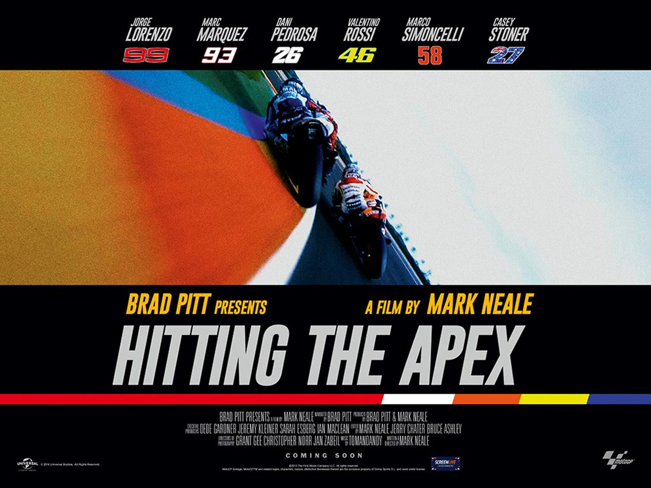 Hitting the Apex - Mark Neale's New Movie About MotoGP - Asphalt & Rubber