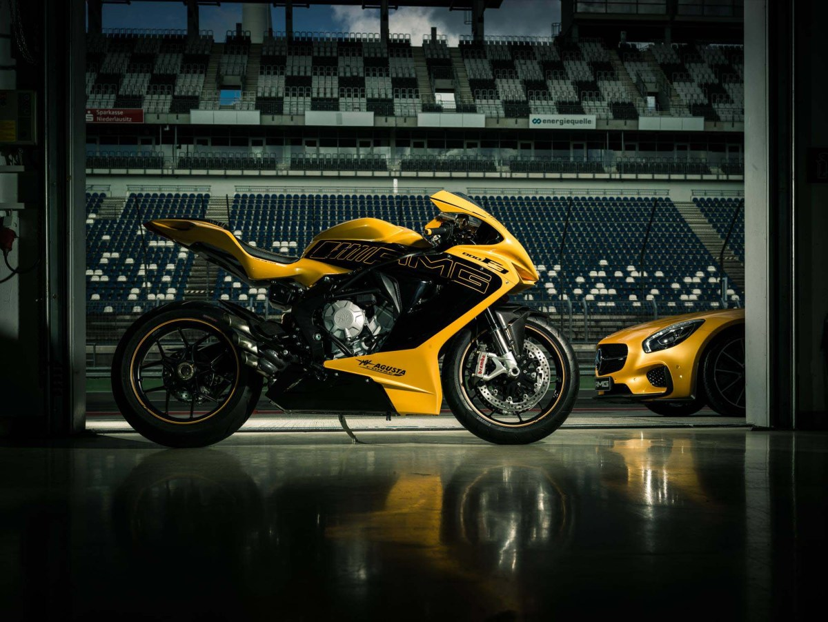 MV Agusta Looking to Part Ways with Mercedes-AMG