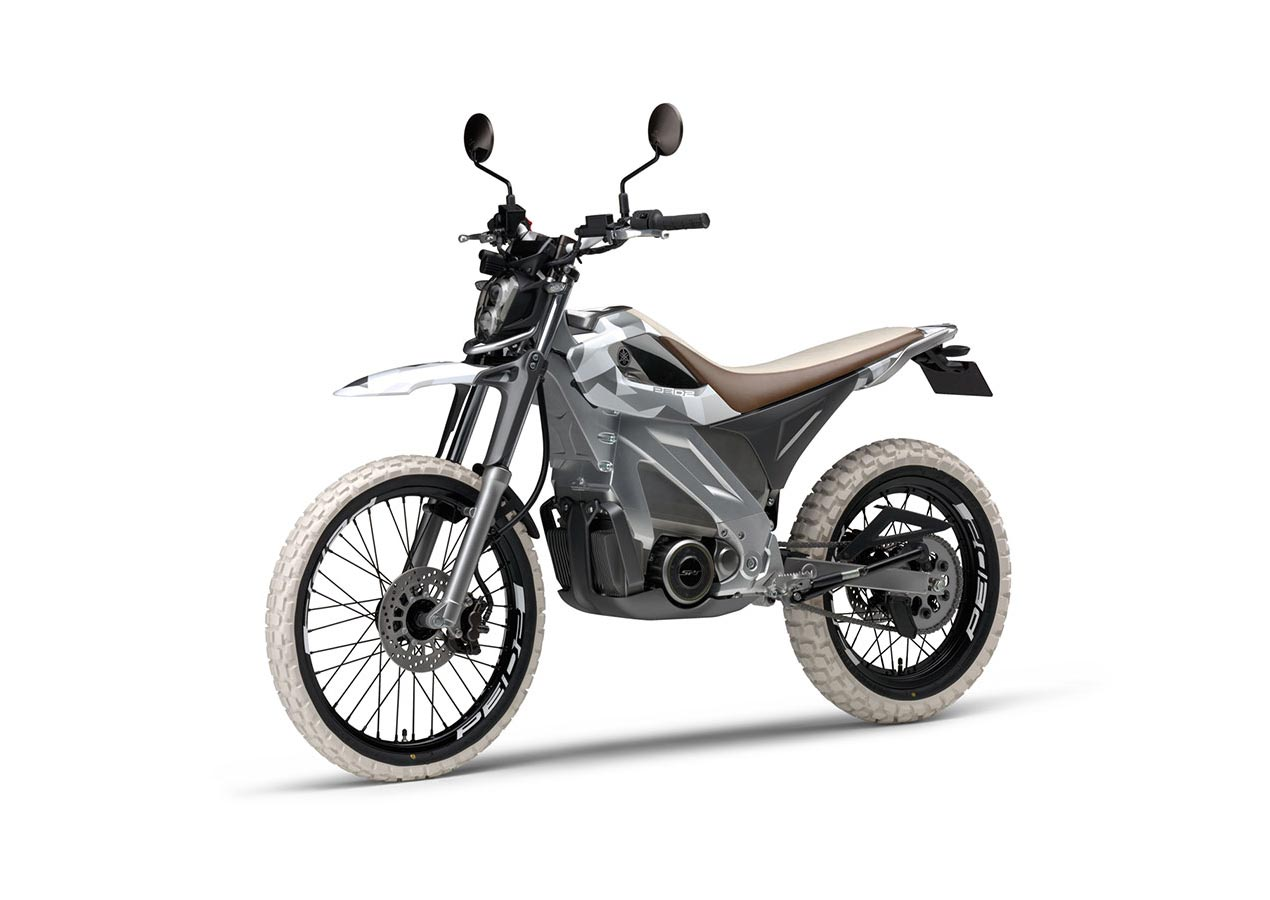 yamaha ped2 electric dirt bike concept