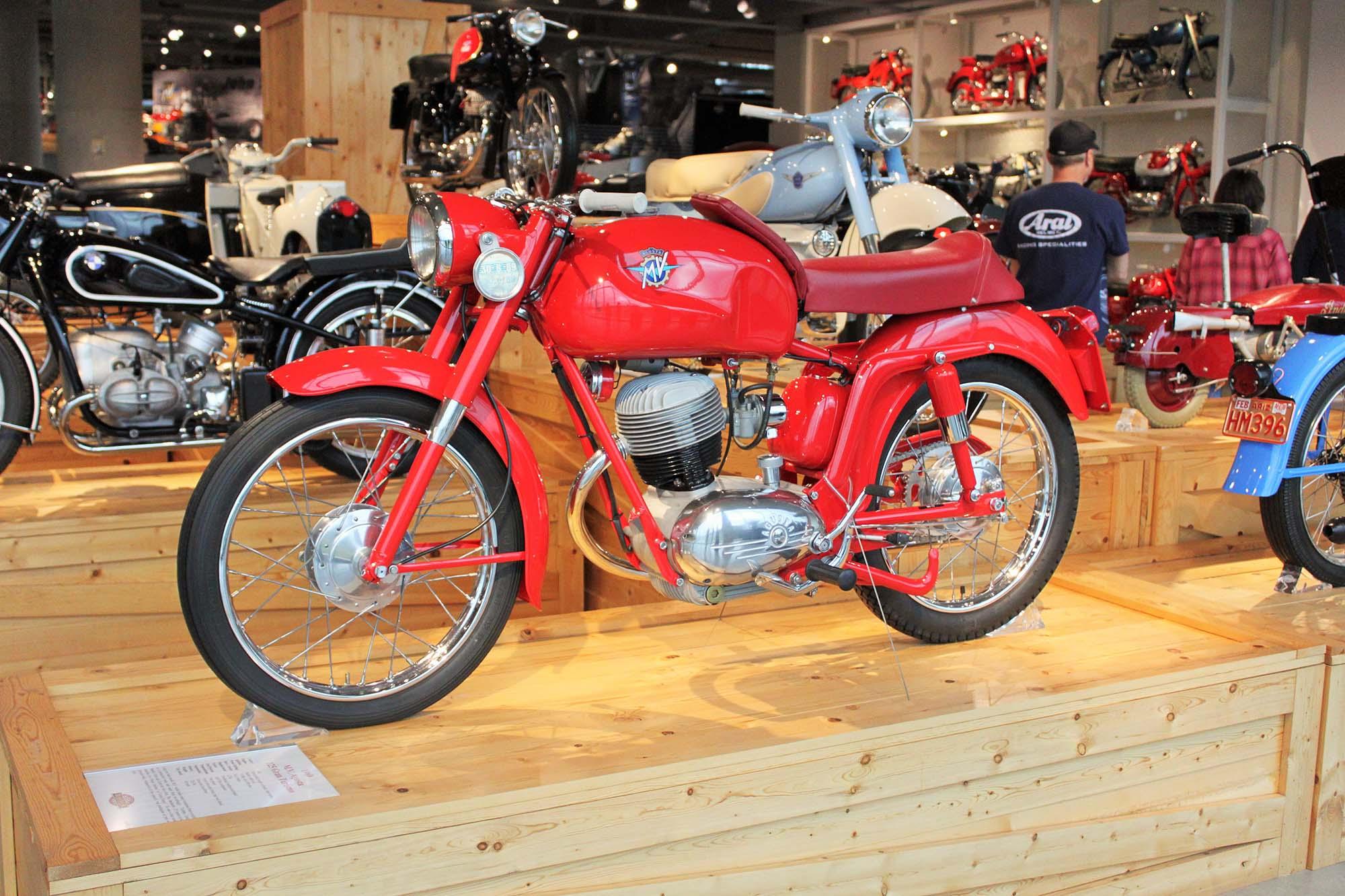 At the Barber Vintage Motorsports Museum