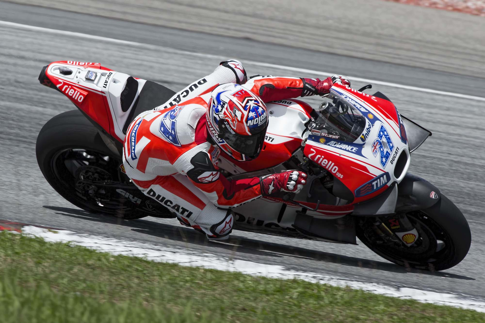 Casey Stoner's First Day Back at Ducati Was A Success