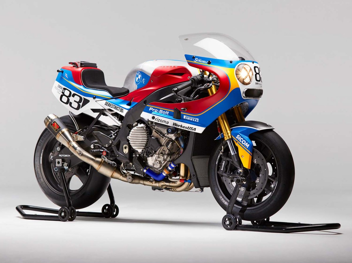 Praëm BMW S1000RR - Getting Modern with Retros