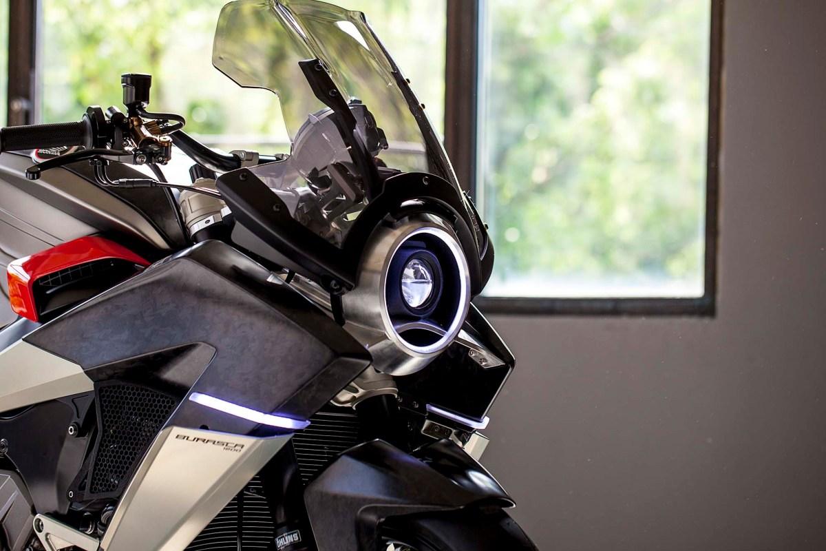 Burasca 1200 - Aldo Drudi's Custom Honda VFR1200F
