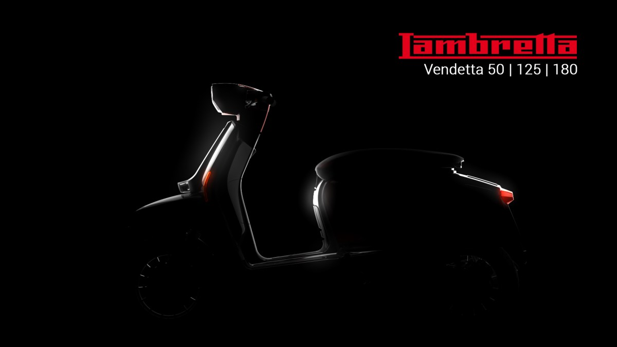 A New Lambretta L70 Vendetta Scooter Is Coming