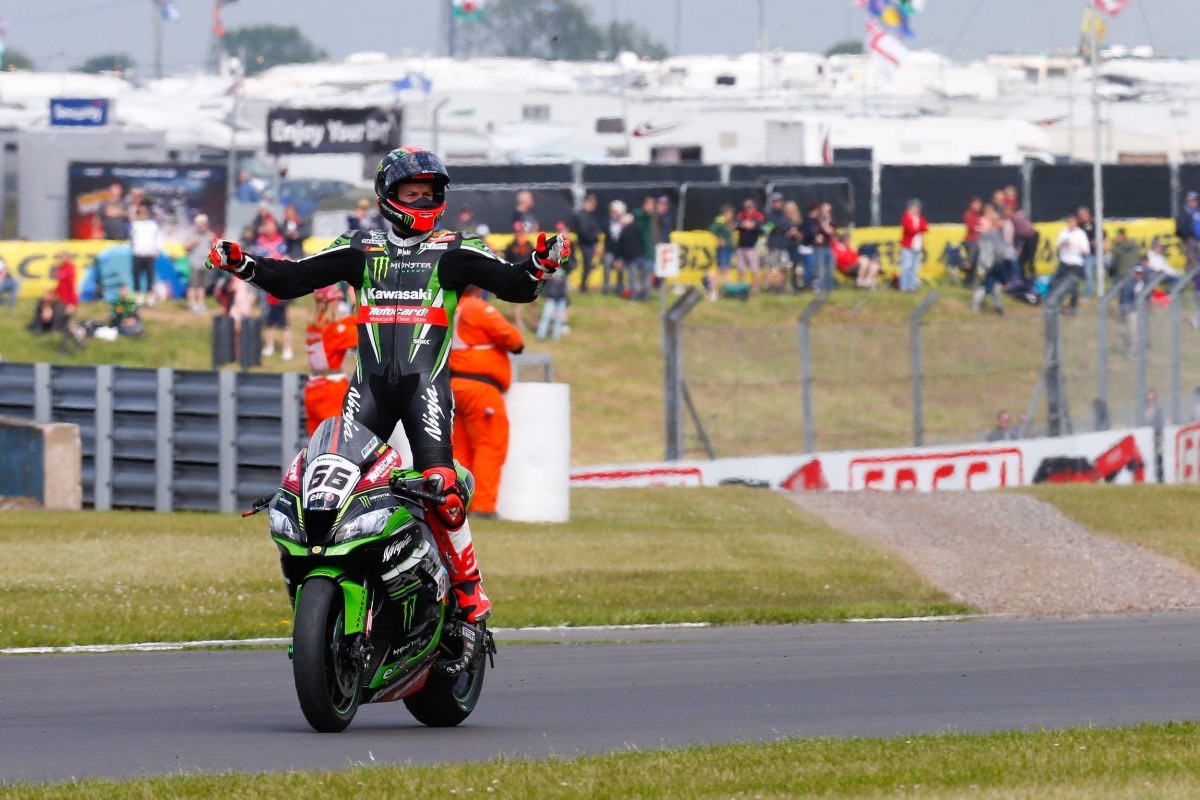 World Superbike Race Results from Donington Park – Race 2