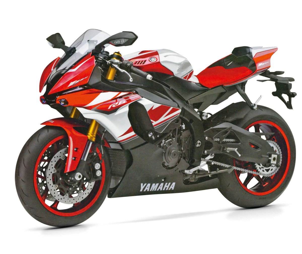 Is This the 2017 Yamaha YZF-R6?...Nope