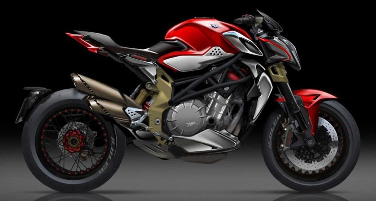 New Four-Cylinder MV Agusta Brutale Debuting at EICMA