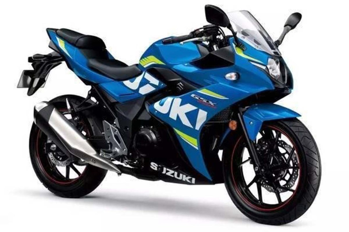 2017 Suzuki GSX-250R Debuts in China
