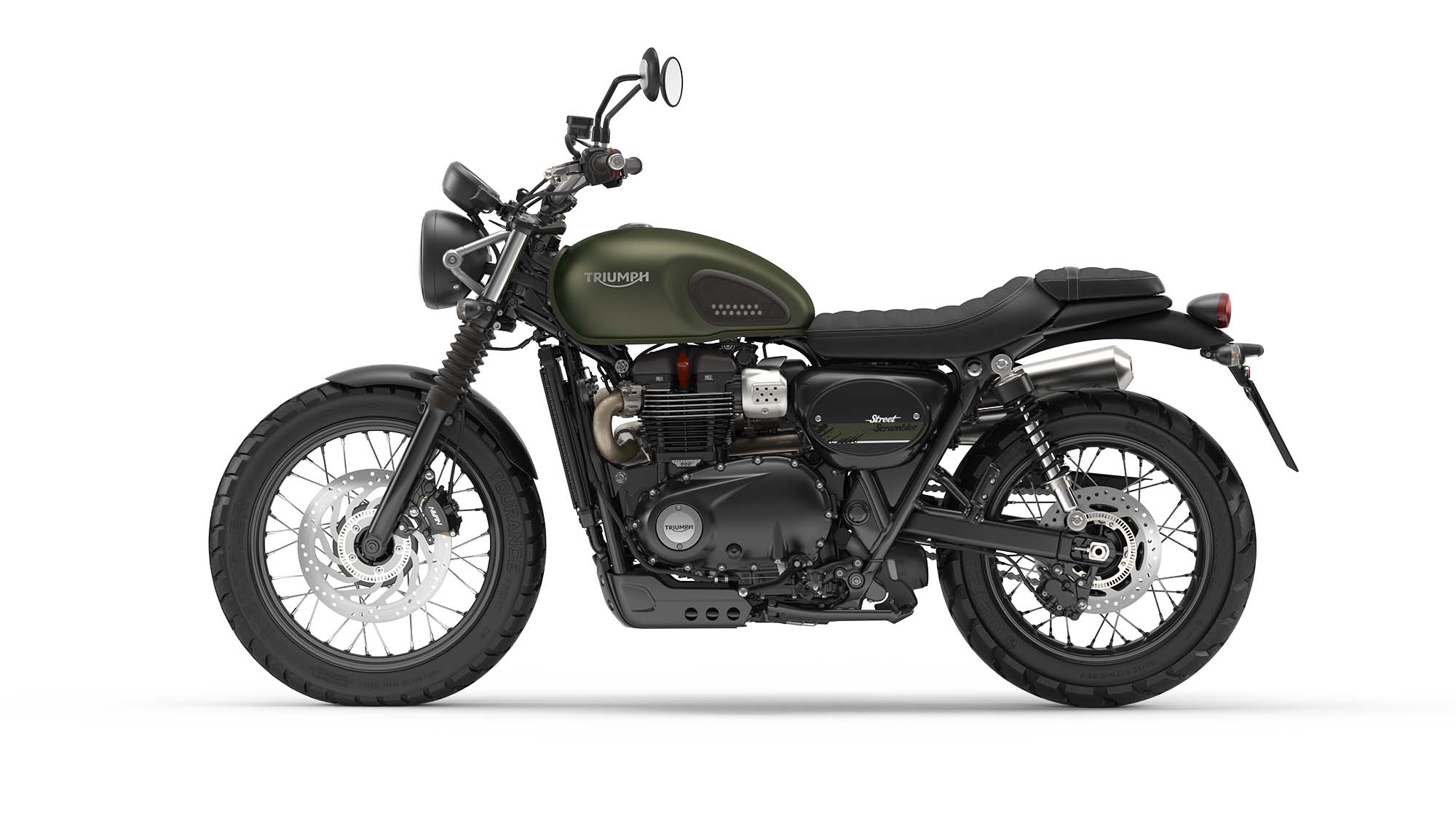 Triumph Street Scrambler - Refined Heritage from the UK